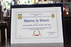 diploma senatul romaniei