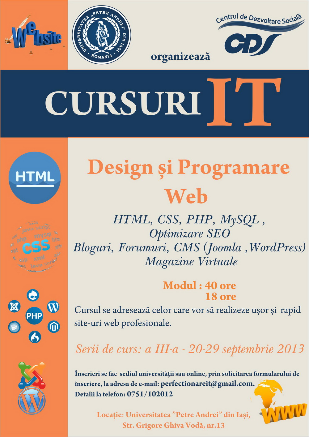 afis cursuri  IT actualizat august resize