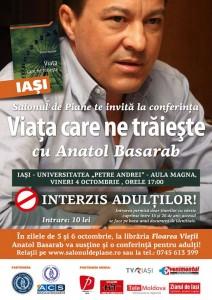 afis conferinta Anatol Basarab