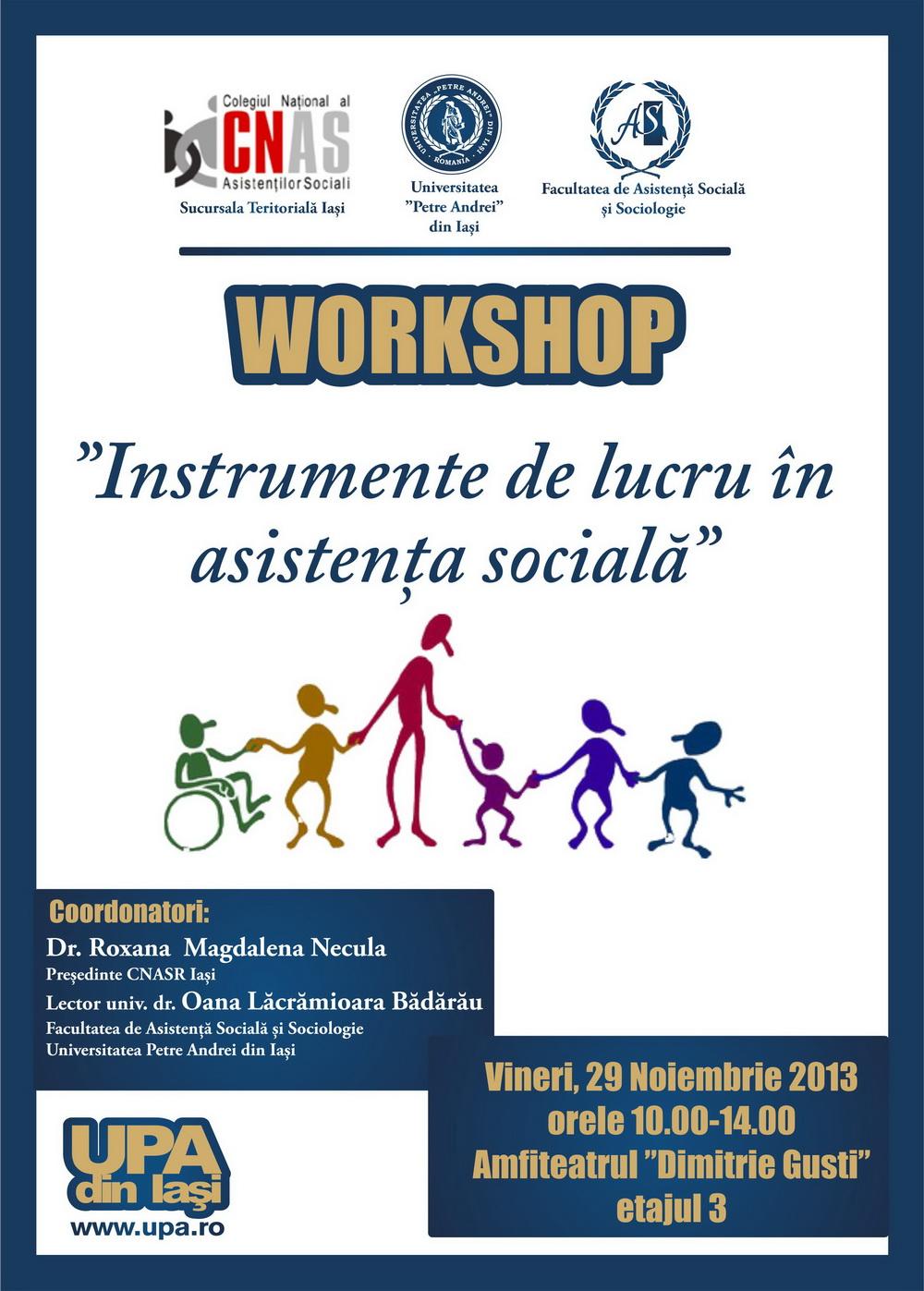 afis 29 noiembrie - workshop asistenta sociala resize