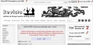 site arhiva revista 22