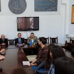 Europarlamentarul Cristian Bușoi s-a întâlnit cu reprezentanții și studenții de la UPA