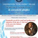 Sesiunea națională de comunicări științifice – ediția a XXIV-a
