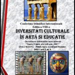 Conferință Academia Română – Diversitati culturale in arta si educatie-dezvoltarea abilitatilor interculturale