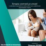 Conferință pe tema terapiei centrată pe emoții, la UPA