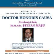 AFIS HONORIS CAUSA 13 MARTIE resize
